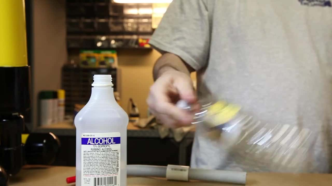How to make an Alcohol Powered Bottle Rocket - The Geek Pub