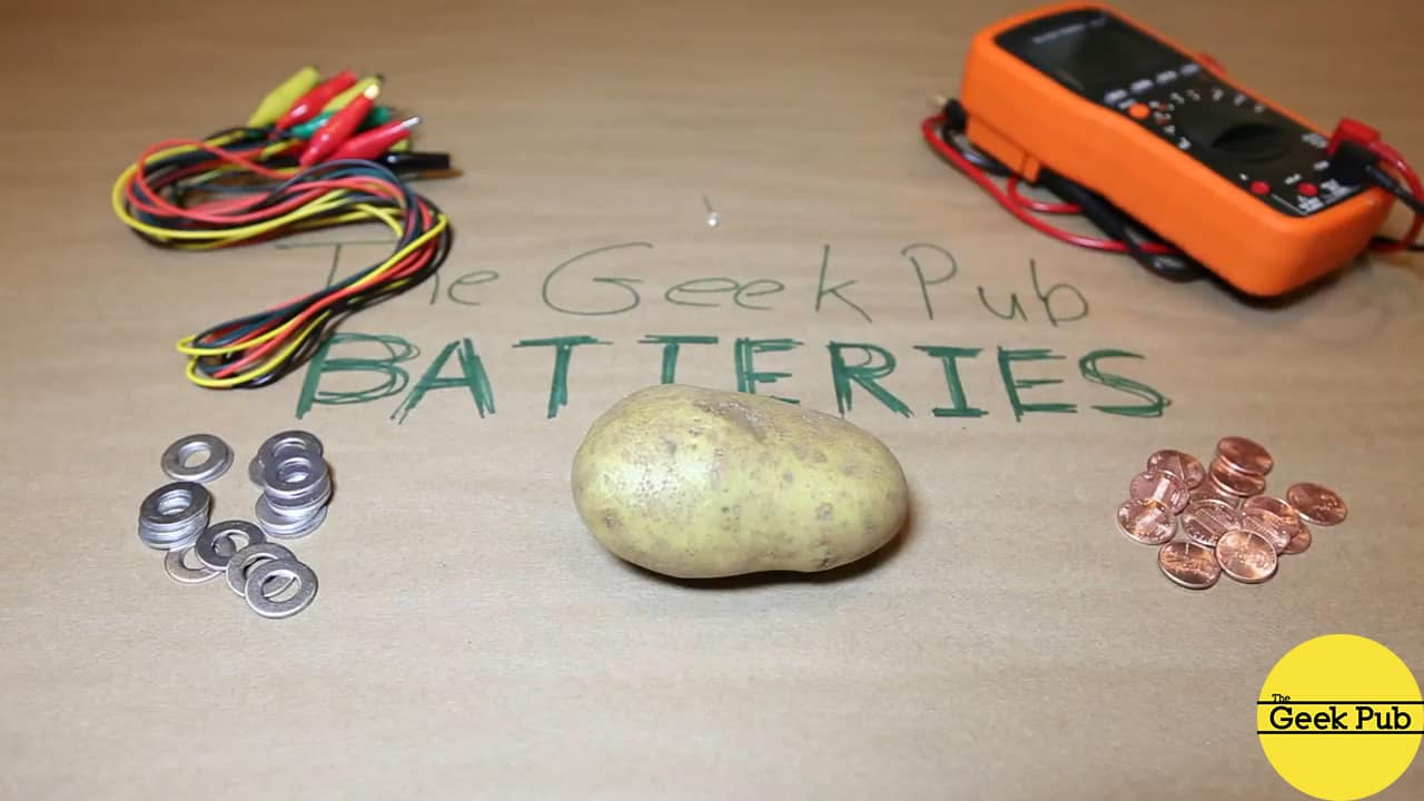 potato battery components