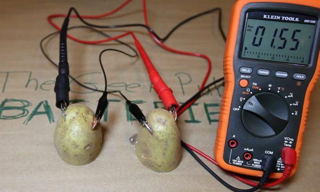 How to make a Potato Battery