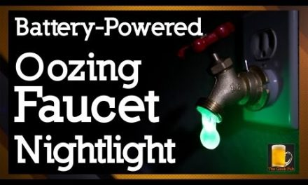 How to Make an Oozing Faucet Nightlight