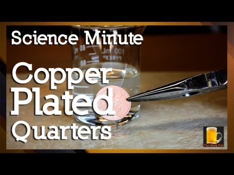 How to make Copper Plated Quarters
