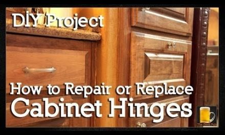 How to repair or replace Cabinet Hinges