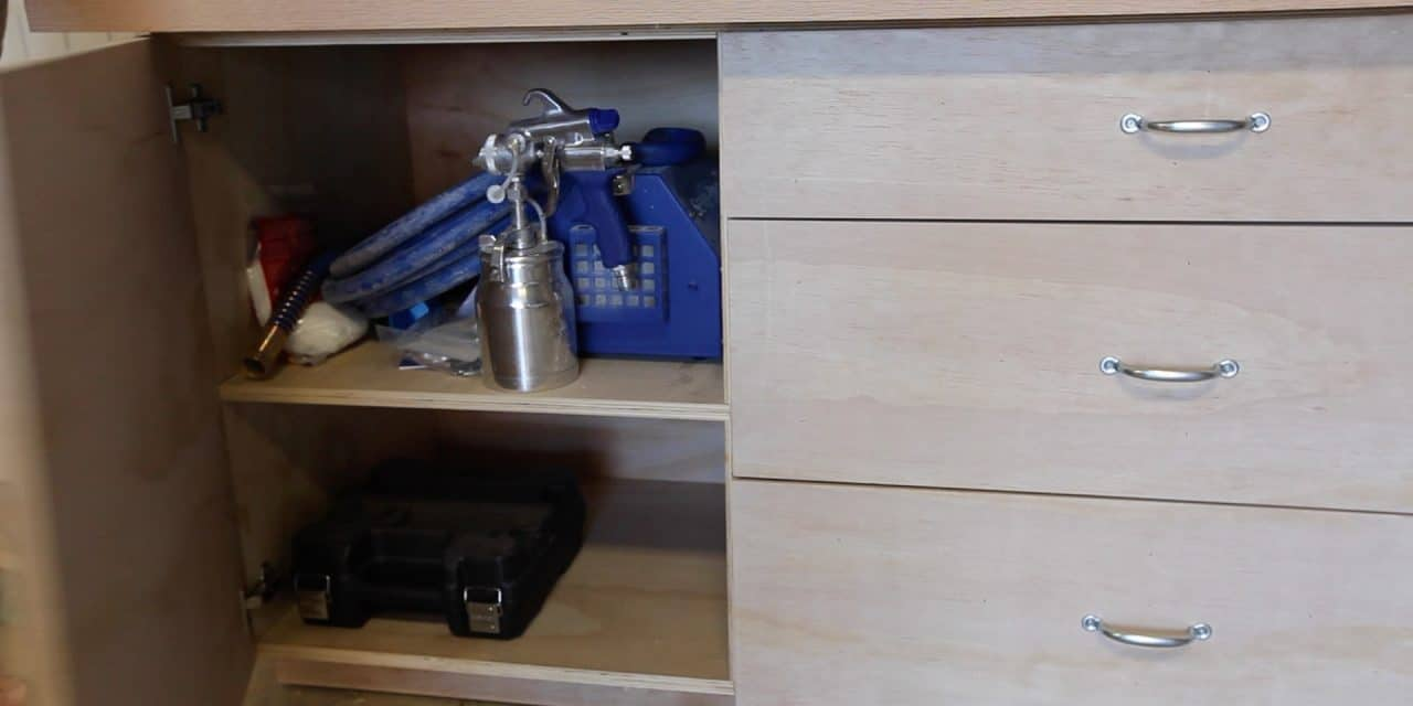 Fabulous How To Make Workbench Doors And Drawers The Geek Pub Machost Co Dining Chair Design Ideas Machostcouk