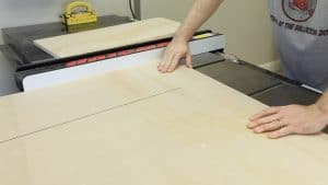 Cutting the Sheet Down