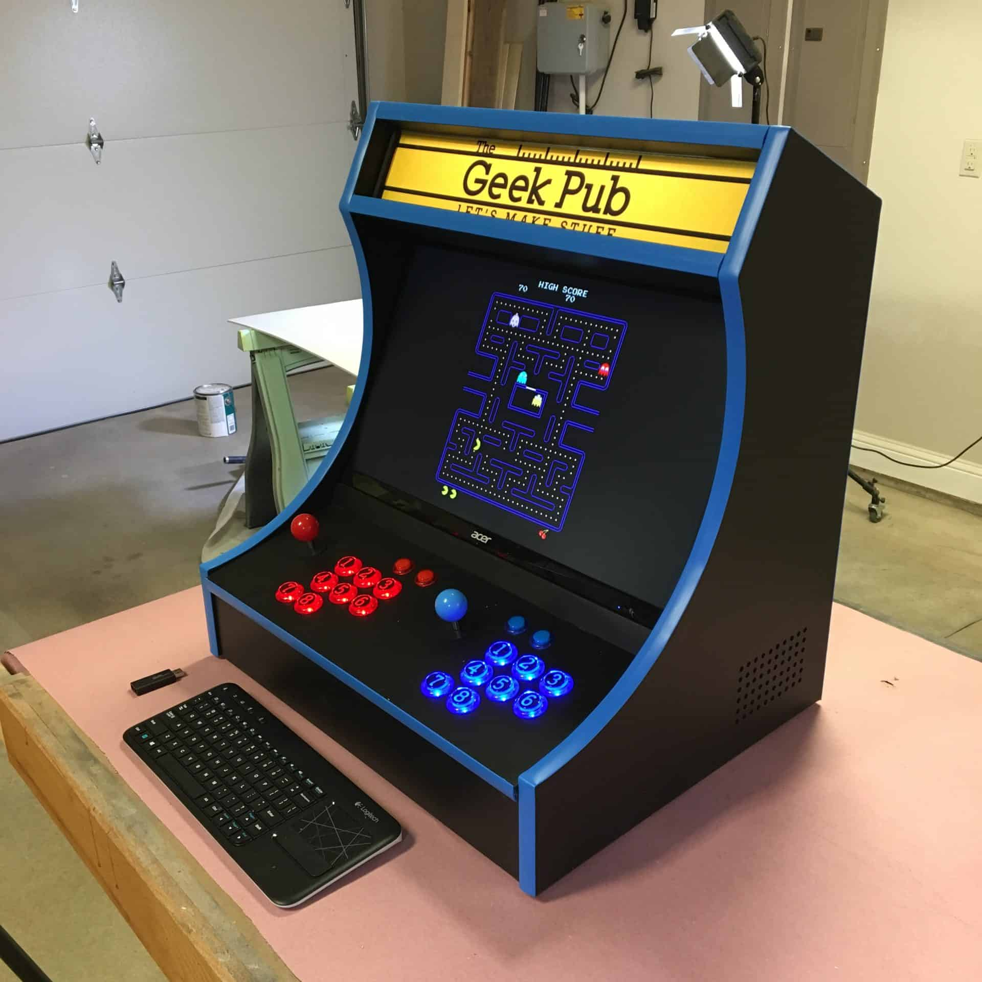Bartop Arcade Cabinet Plans