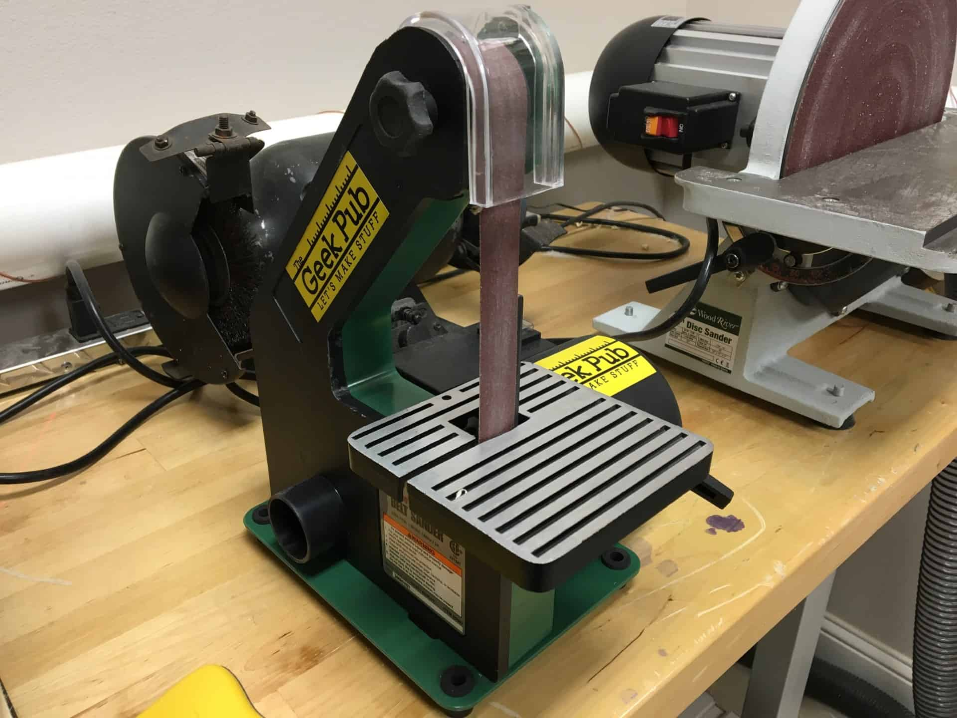 Grizzly H3140 Harbor Freight 1 inch belt sander