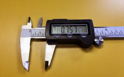 How to use Digital Calipers 0005