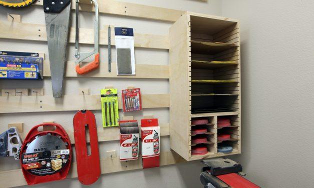 How to make a Sandpaper Storage Station
