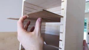 Insert the shelves