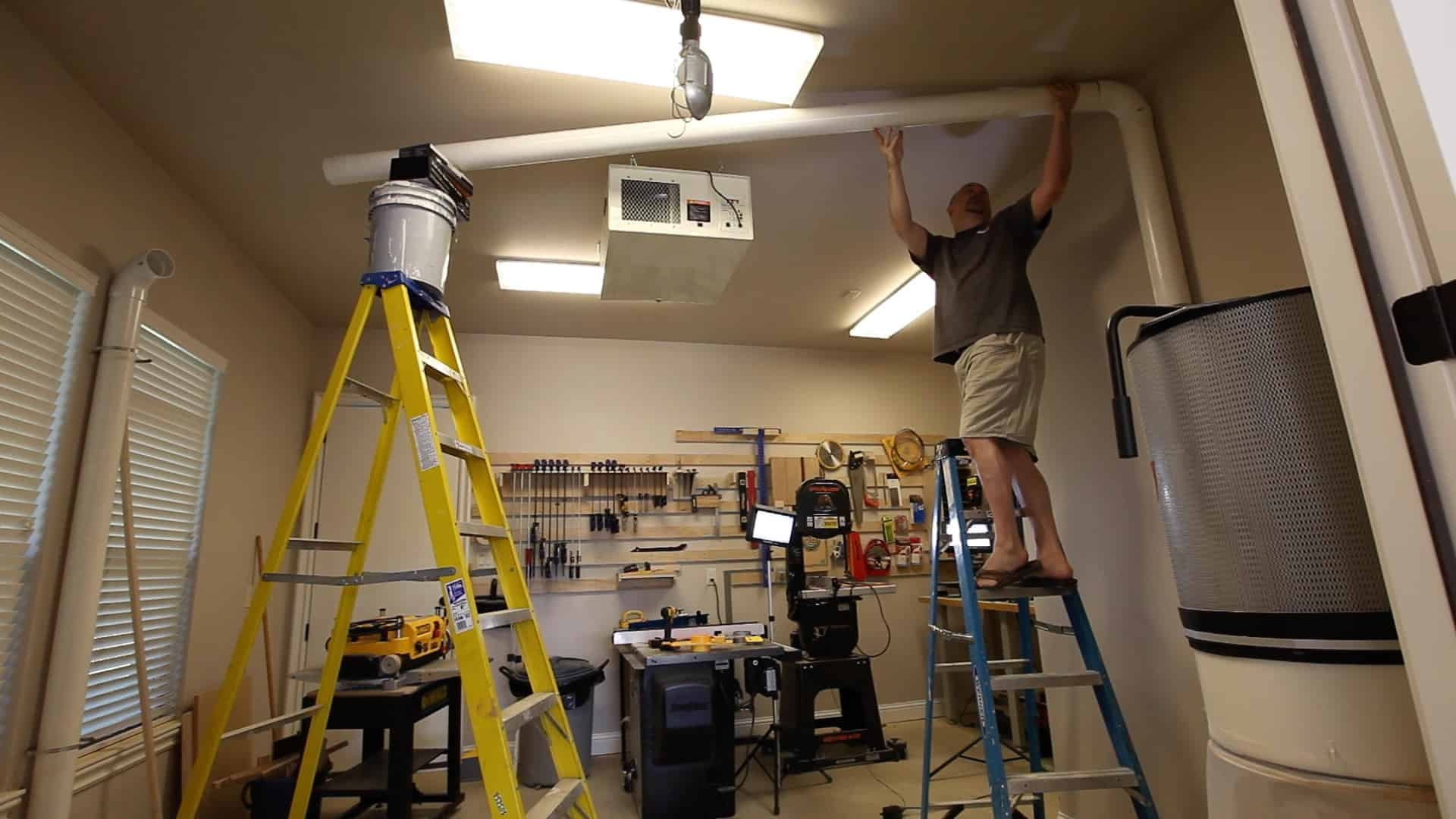 Installing An Automated Dust Collection System The Geek Pub
