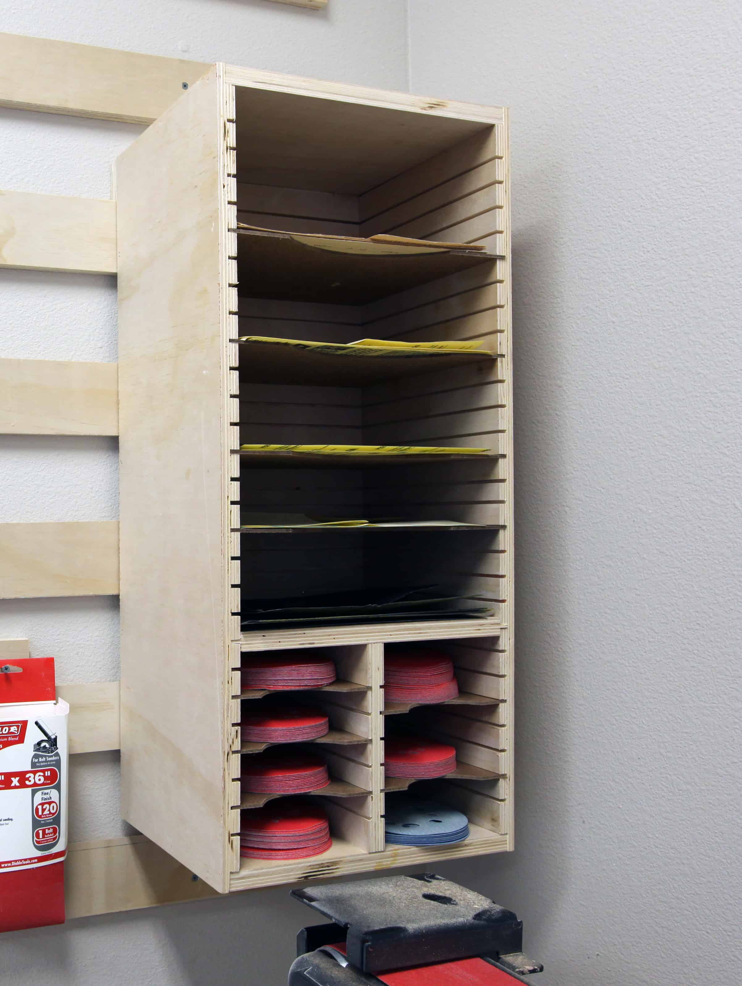 How to make a Sandpaper Storage Station - The Geek Pub