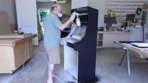 buulding an arcade cabinet - 007