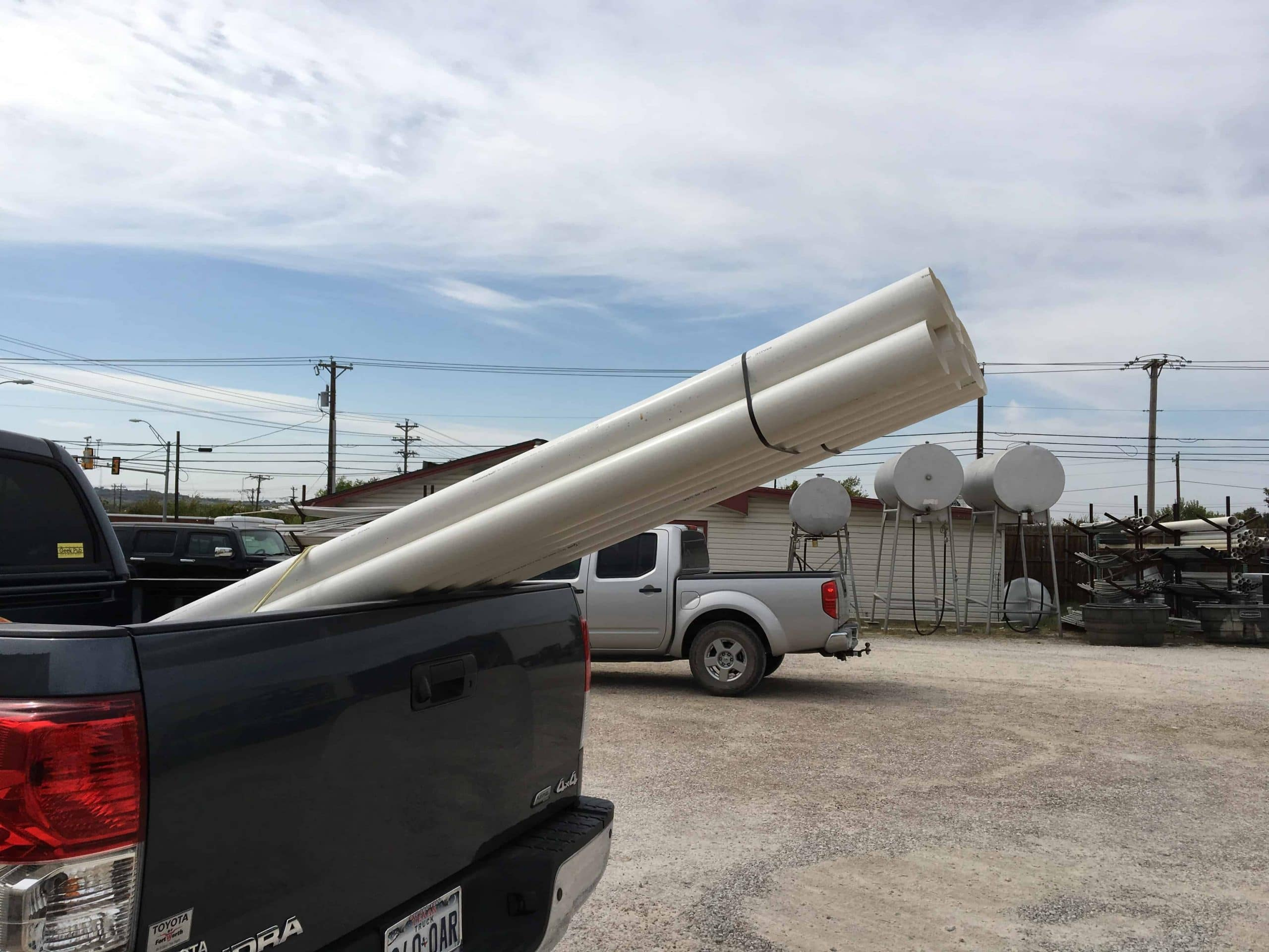 Where to buy Schedule 20 PVC Pipe for Dust Collection