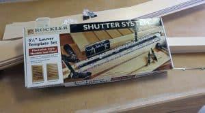 rockler shutter system