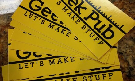 Free The Geek Pub Stickers & Prize Drawing!