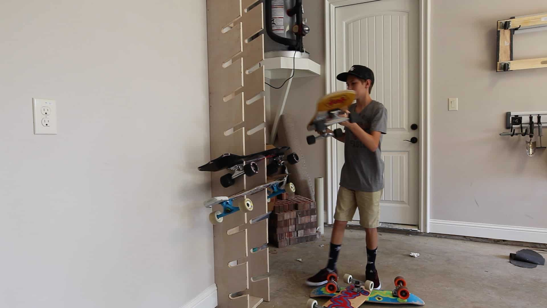 How To Make A Skateboard Rack The Geek Pub