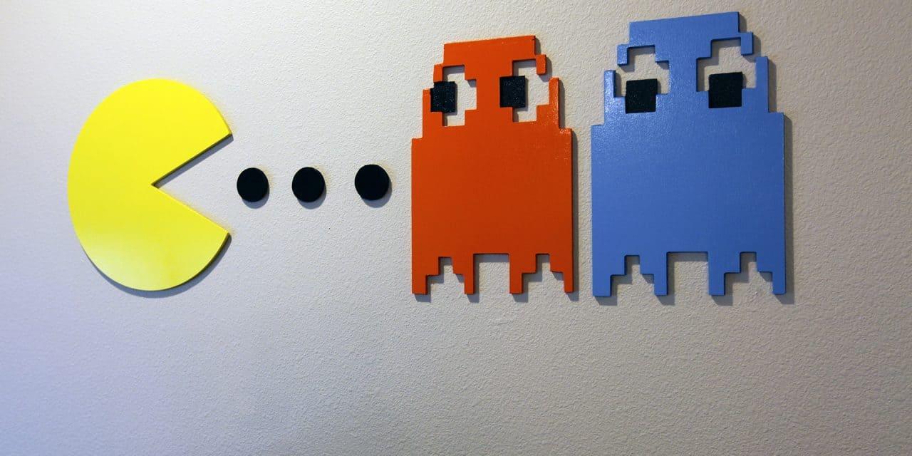 How to Make Pac-Man Wall Art