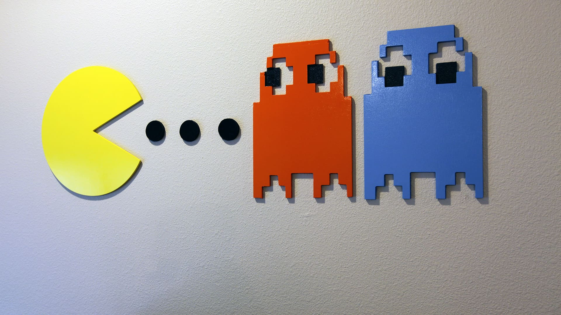 How To Make Pac Man Wall Art The Geek Pub