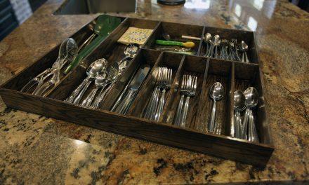 How to Make a Silverware Organizer