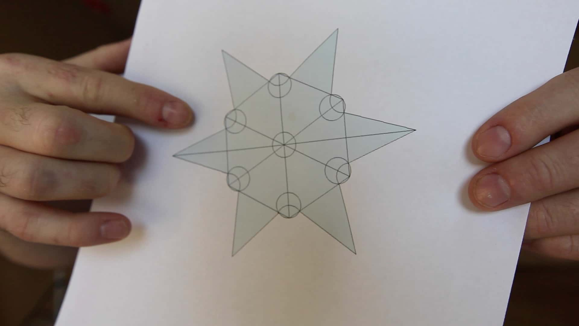 Make a Throwing Star from a Saw Blade - The Geek Pub