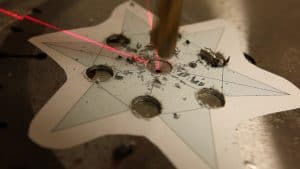 Make a Throwing Star from a Saw Blade 0005