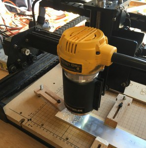 DeWalt DW611 Router Mounted to X-Carve
