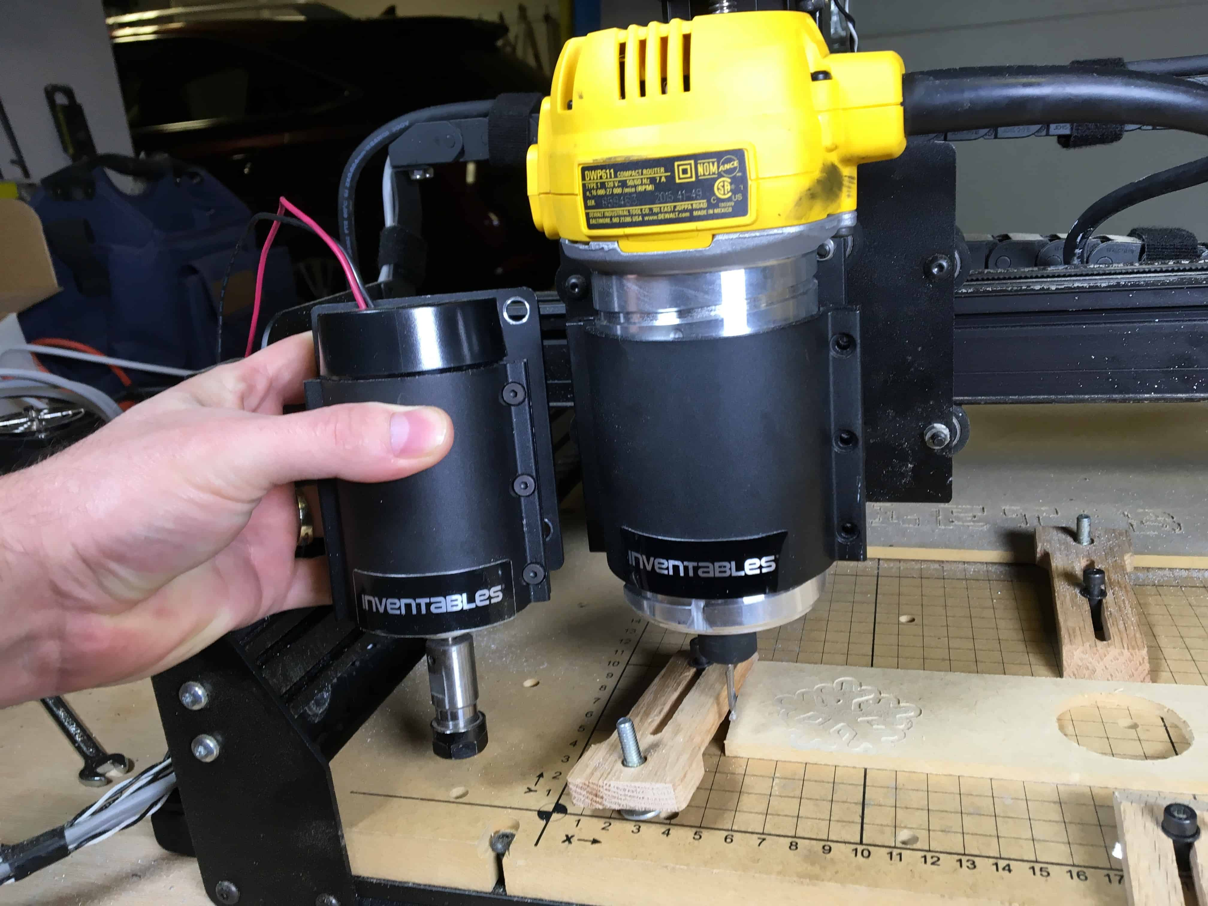 Upgrading The X Carve To The Dewalt 611 Dwp611 The