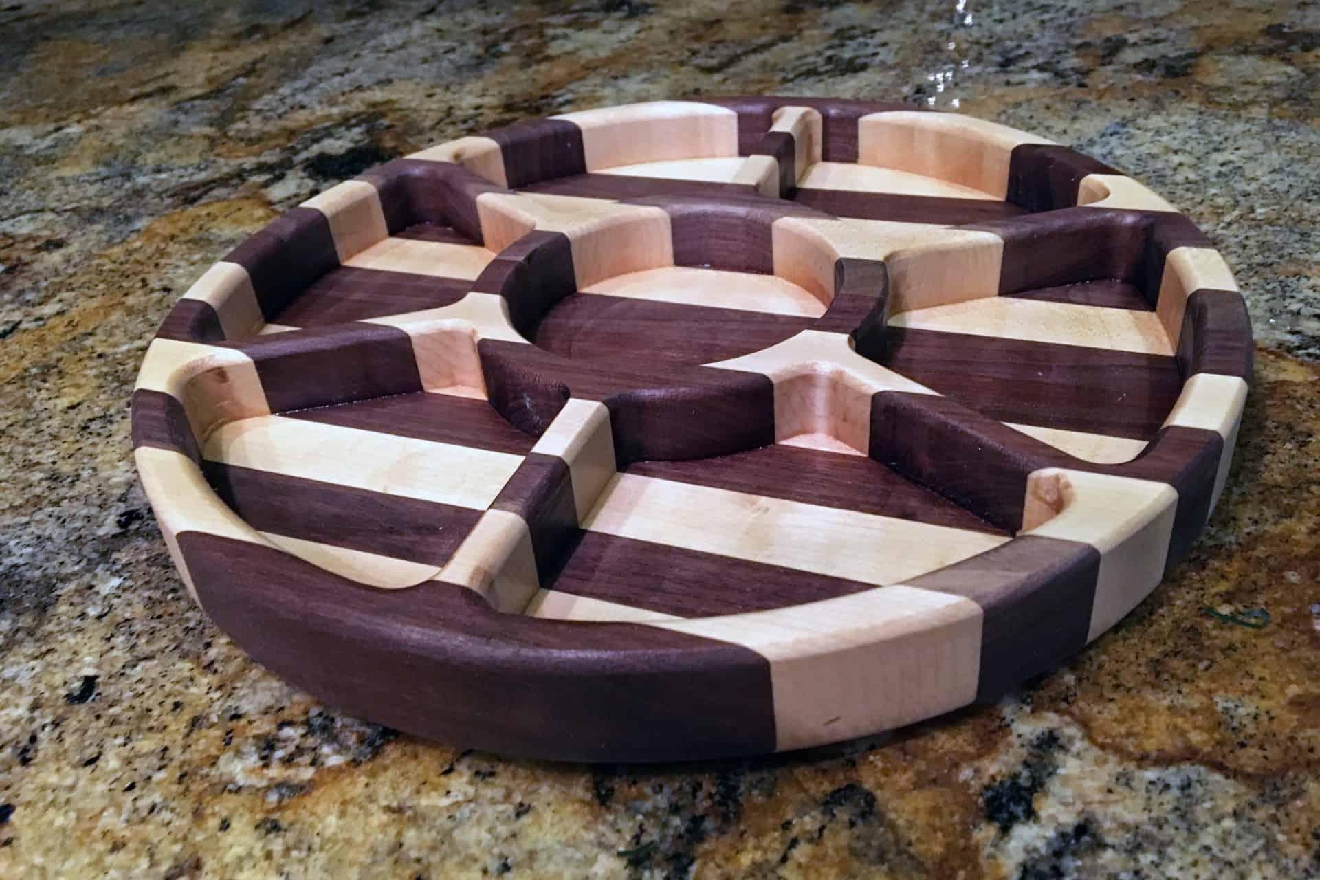 make a party serving tray hand tools vs cnc the geek pub. Black Bedroom Furniture Sets. Home Design Ideas