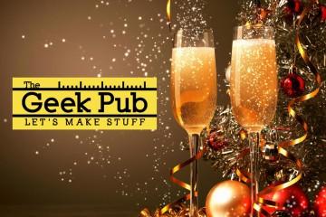 happy new year the geek pub