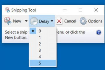 How to use the snipping tool - 0002