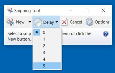 How to use the Snipping Tool