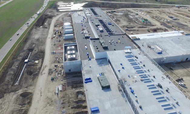 Facebook Fort Worth Data Center Drone Flyover
