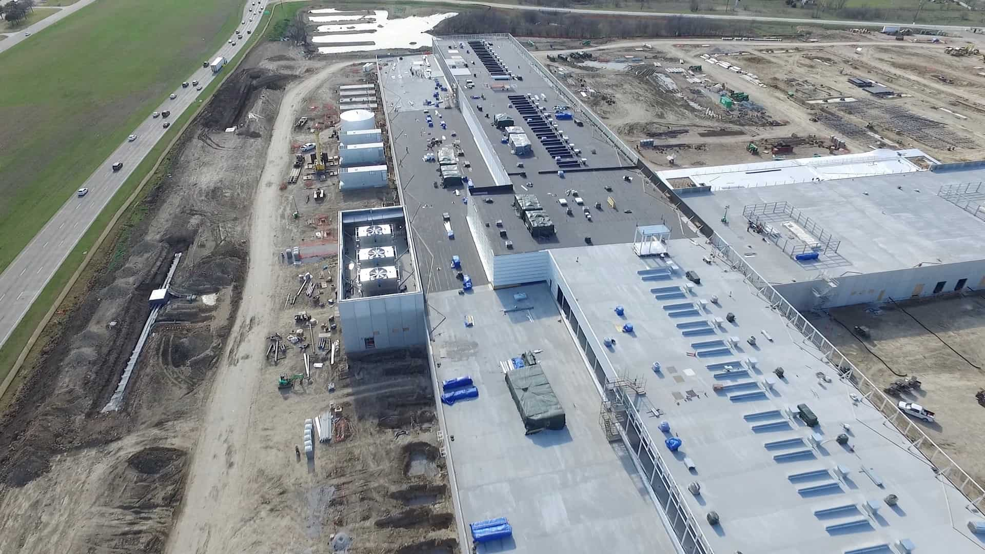 Facebook Fort Worth Data Center Drone Flyover The Geek Pub
