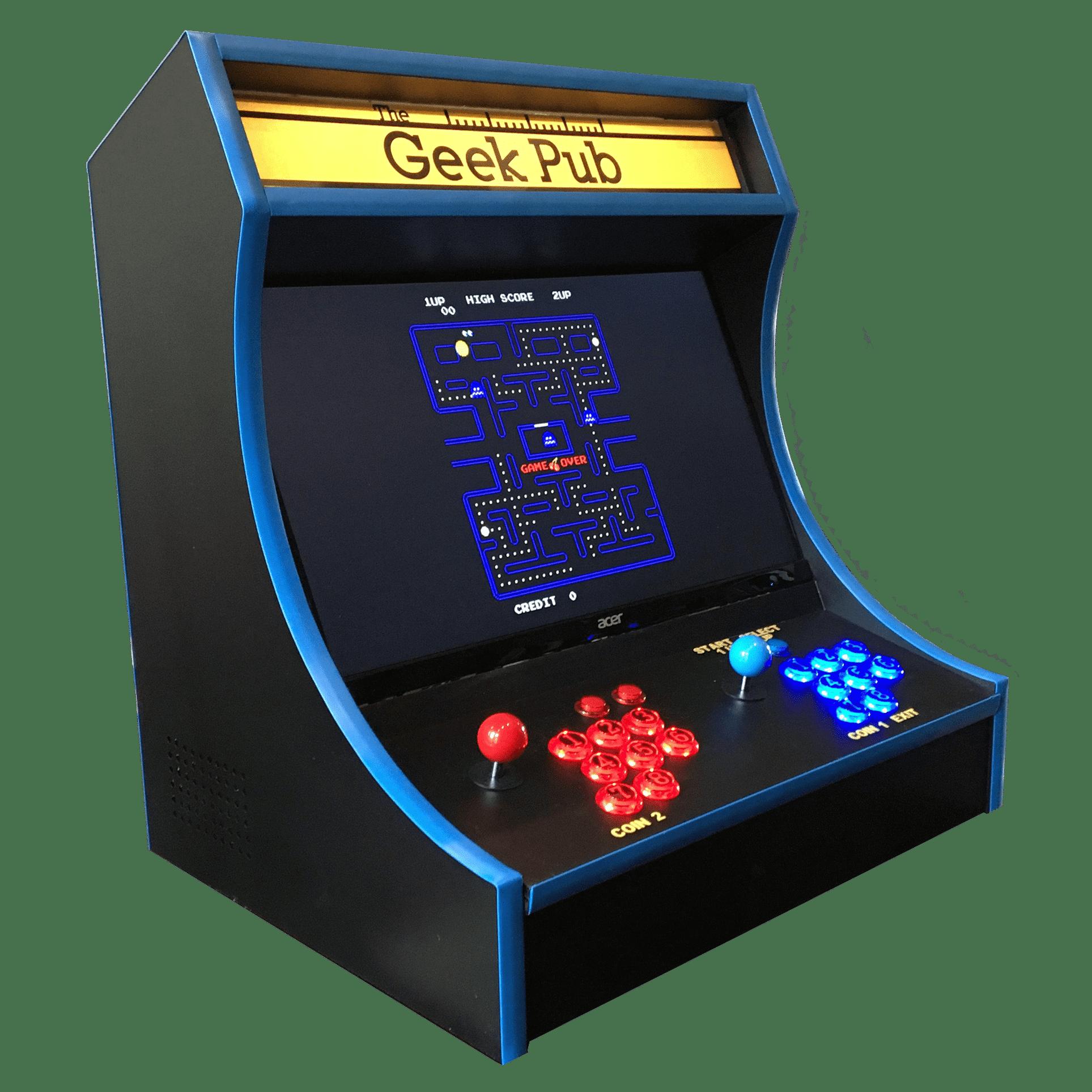 Bartop Arcade Cabinet Plans - The Geek Pub