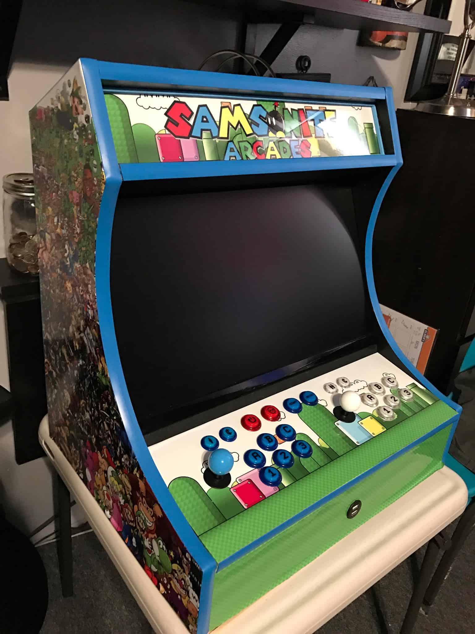 Bartop Arcade Cabinet Plans The Geek Pub