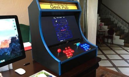 Build a RetroPie Bartop Arcade Cabinet