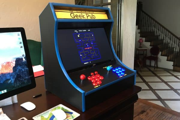 Finished Bartop Arcade Cabinet 0002