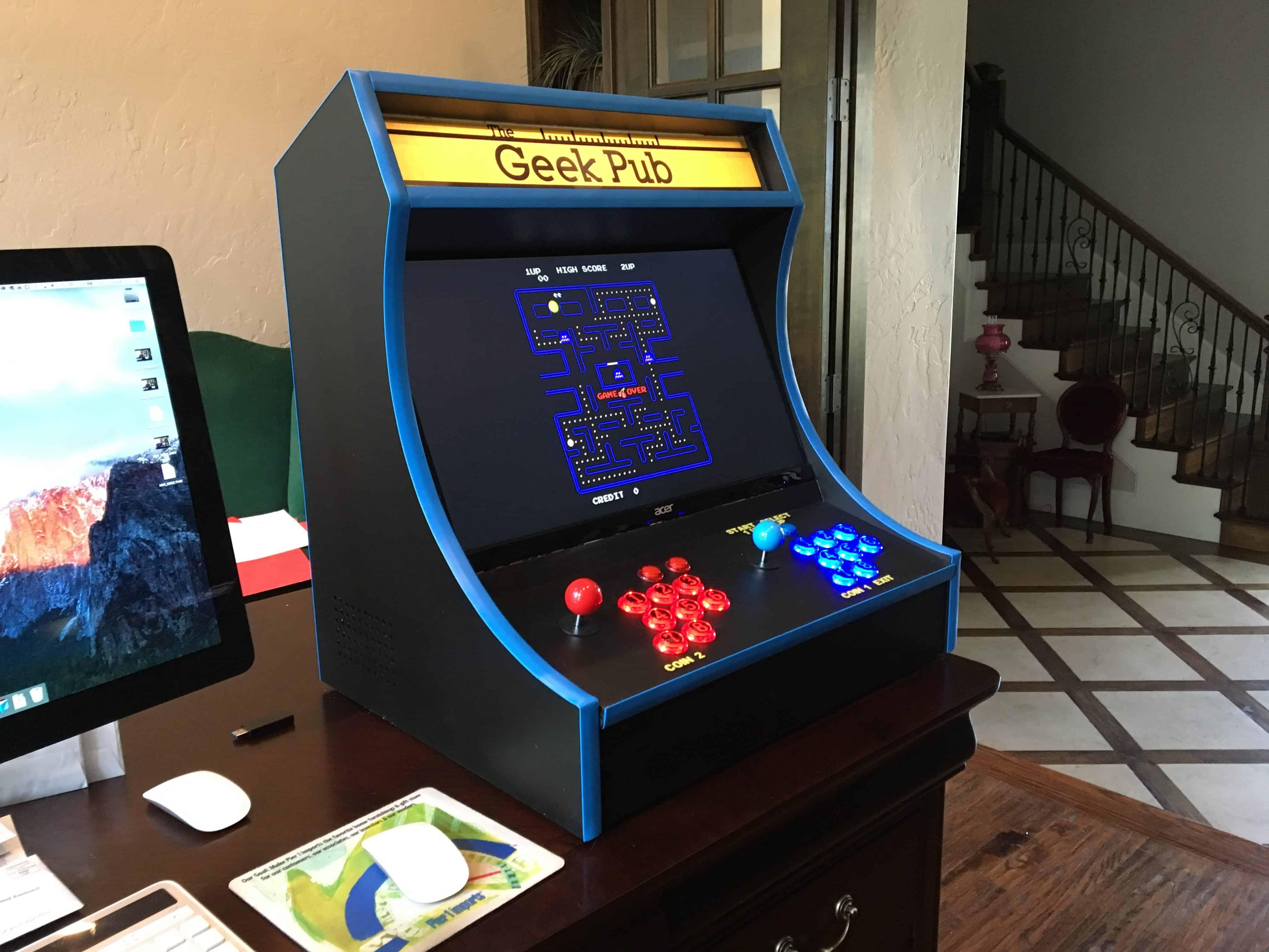 Build A Retropie Bartop Arcade Cabinet The Geek Pub