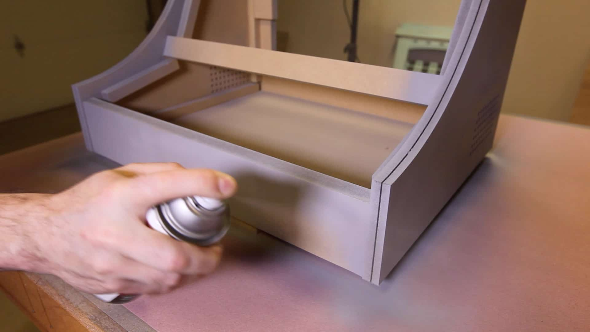 how to build bar top arcade cabinet