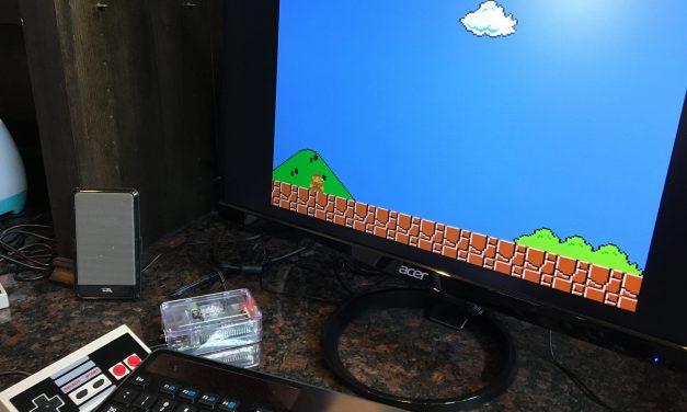 Setting up RetroPie on a Raspberry Pi 3