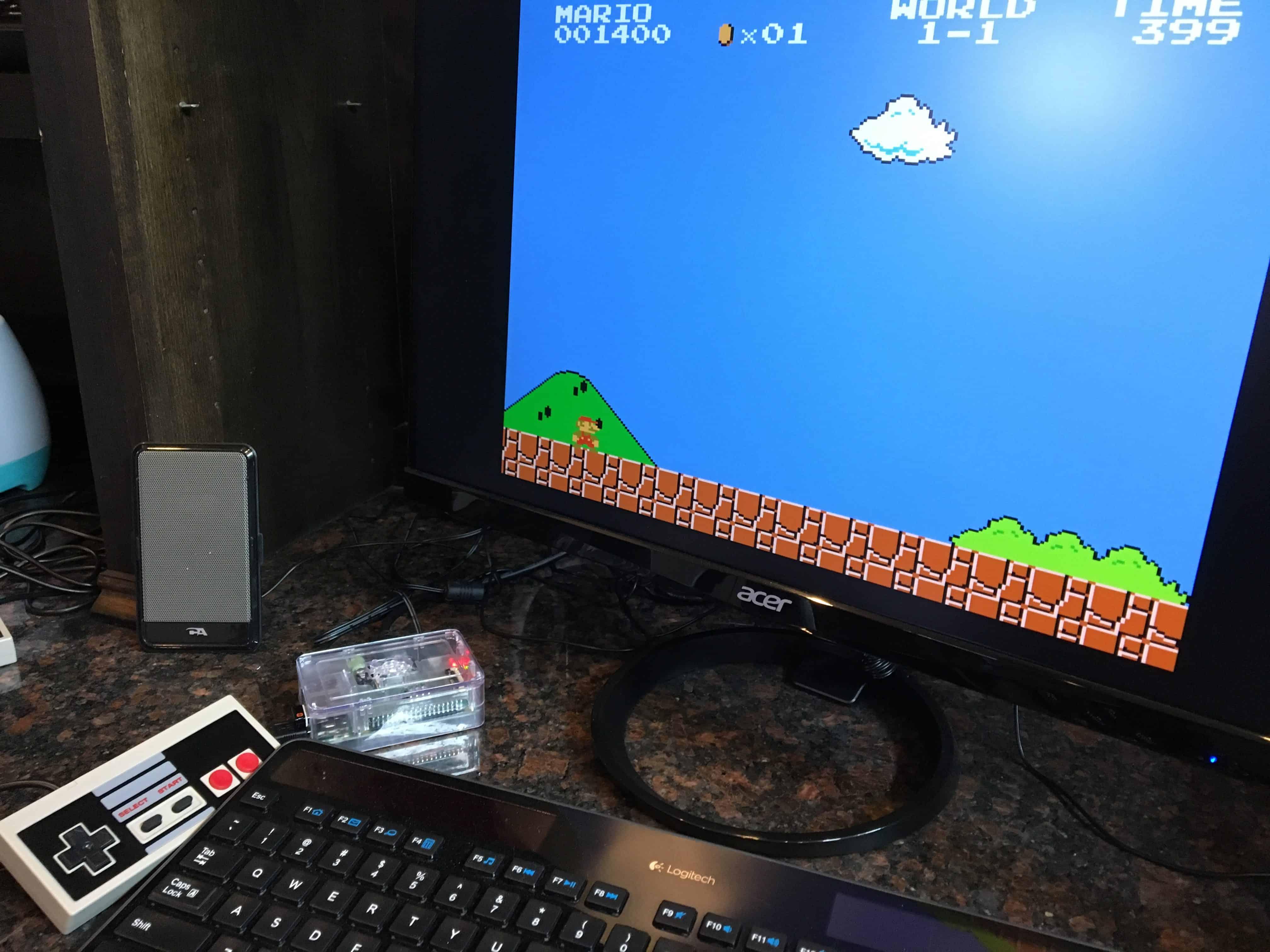 Setting up RetroPie on a Raspberry Pi 3 - The Geek Pub