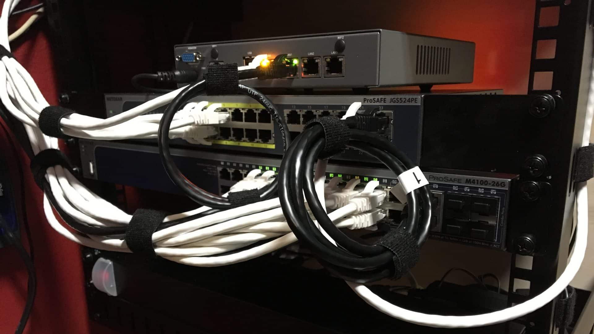 Installing a Home Network Rack hero