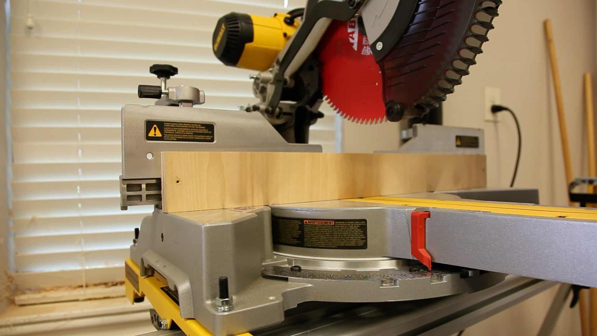 Miter Saw not Cutting Square - 0005