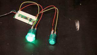 Reverse Sanwa LED Operation