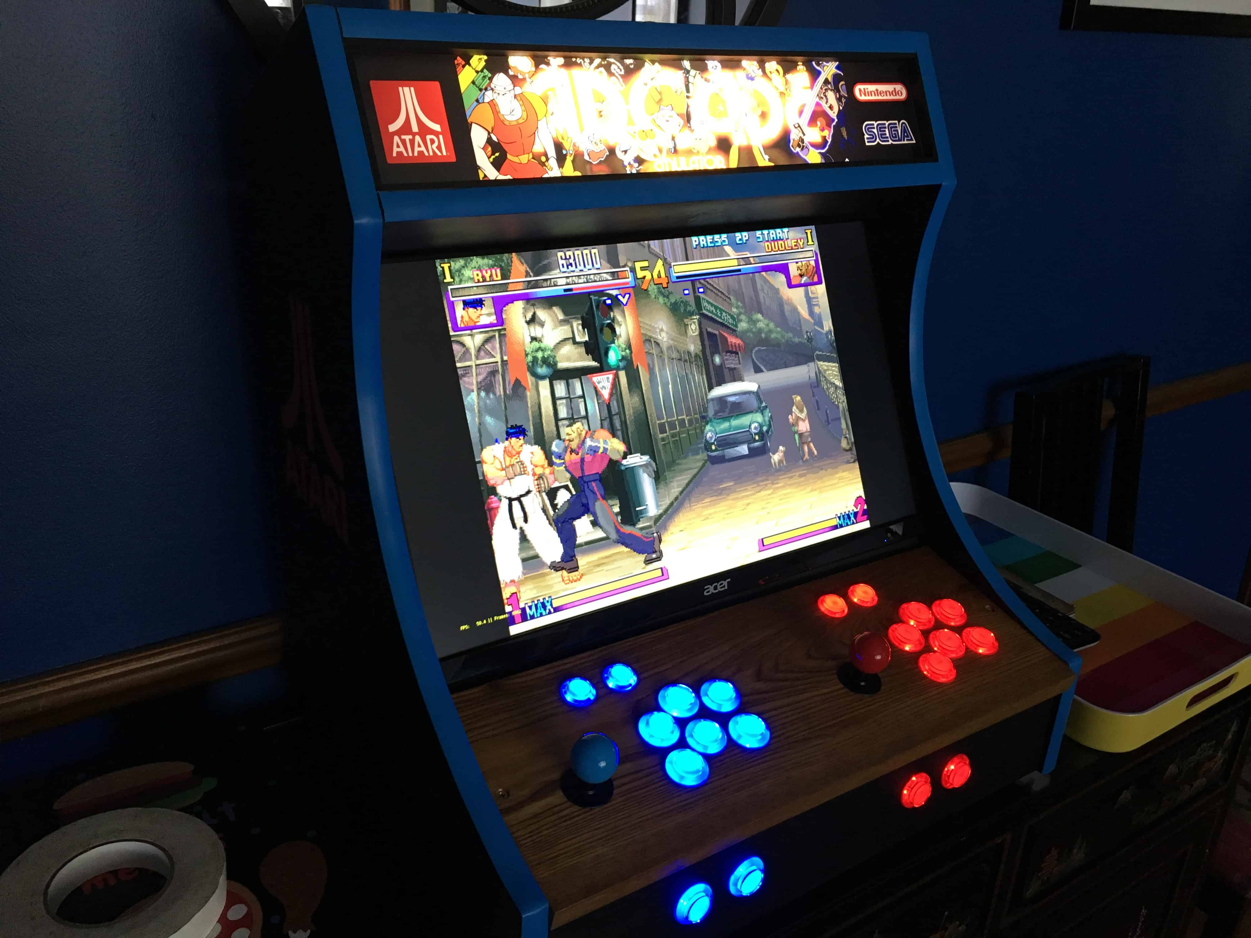 Customer Build   Bartop Arcade   0004