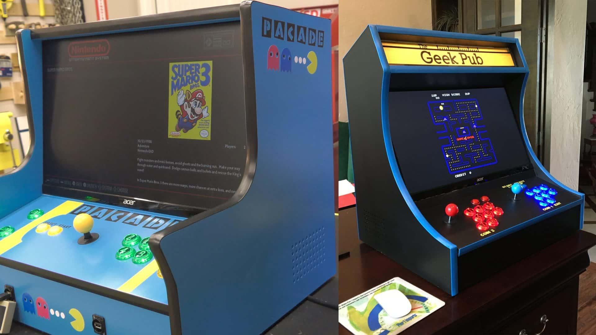 Bartop Arcade Two Plan Bundle The Geek Pub