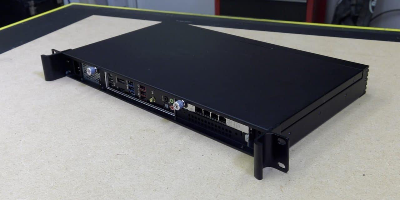 Building a 1U Server (Bad A** 1U Server Build!)