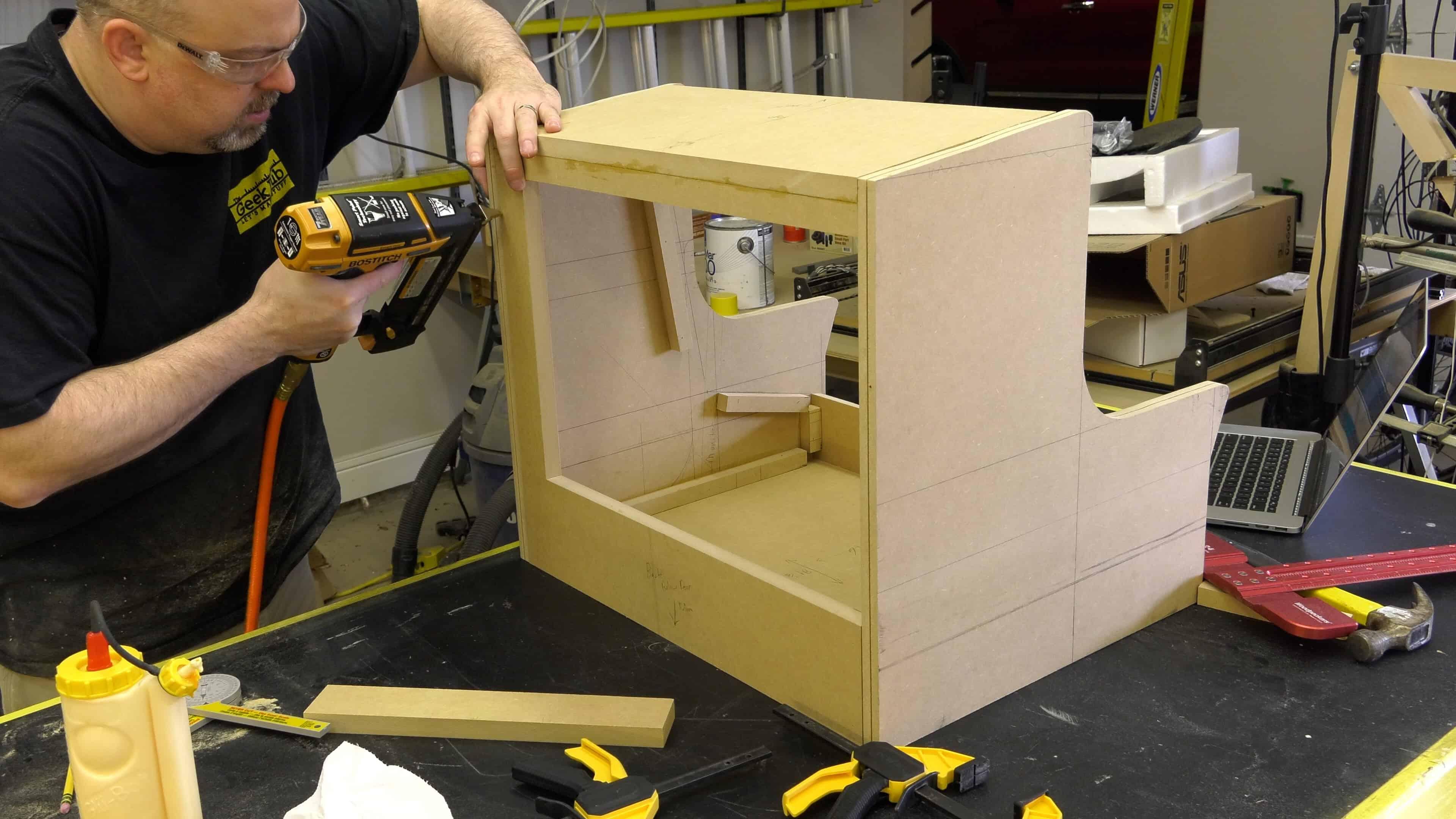 Pacade RetroPie Bartop Arcade Cabinet Build   0017