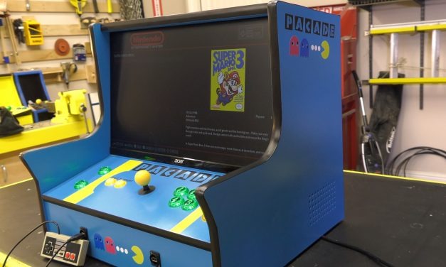 Make the Pacade (Bartop Retropie Arcade Cabinet)