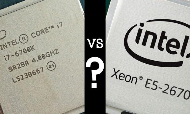 XEON vs Core i7